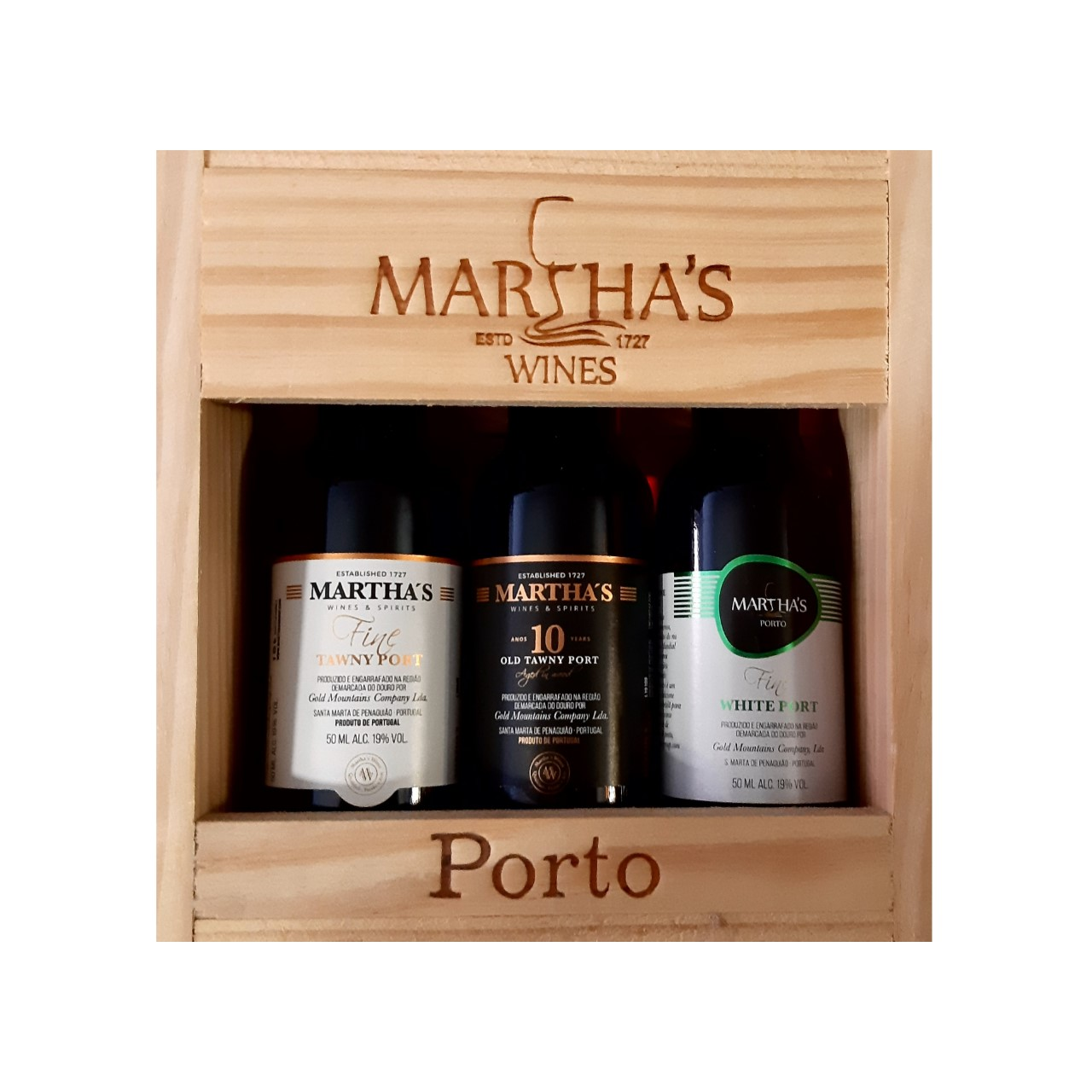 Martha's Miniaturas Vinho do Porto (3un)