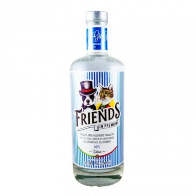 Friends Gin Dry Premium Edition