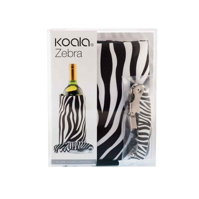 Zebra wine SET