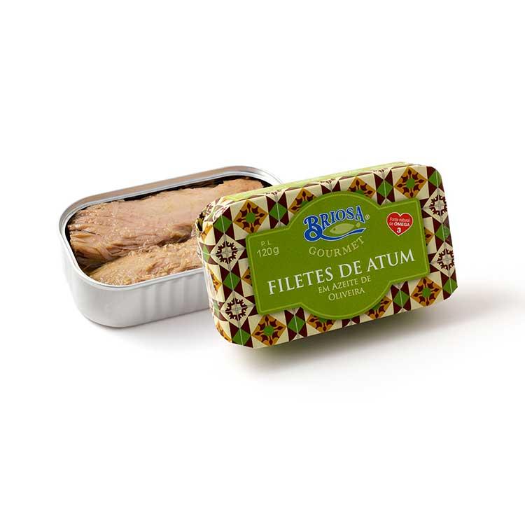 Filetes de Atum em Azeite de Oliveira - Briosa