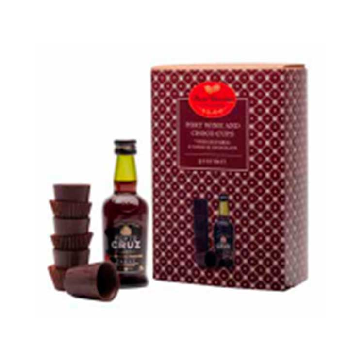 Coffret Vinho do Porto - Maria Chocolate