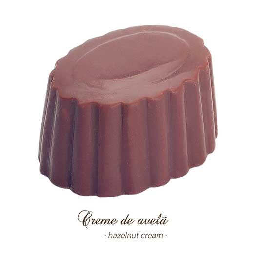 Bombons Gourmet - Creme de Avelã - Maria Chocolate