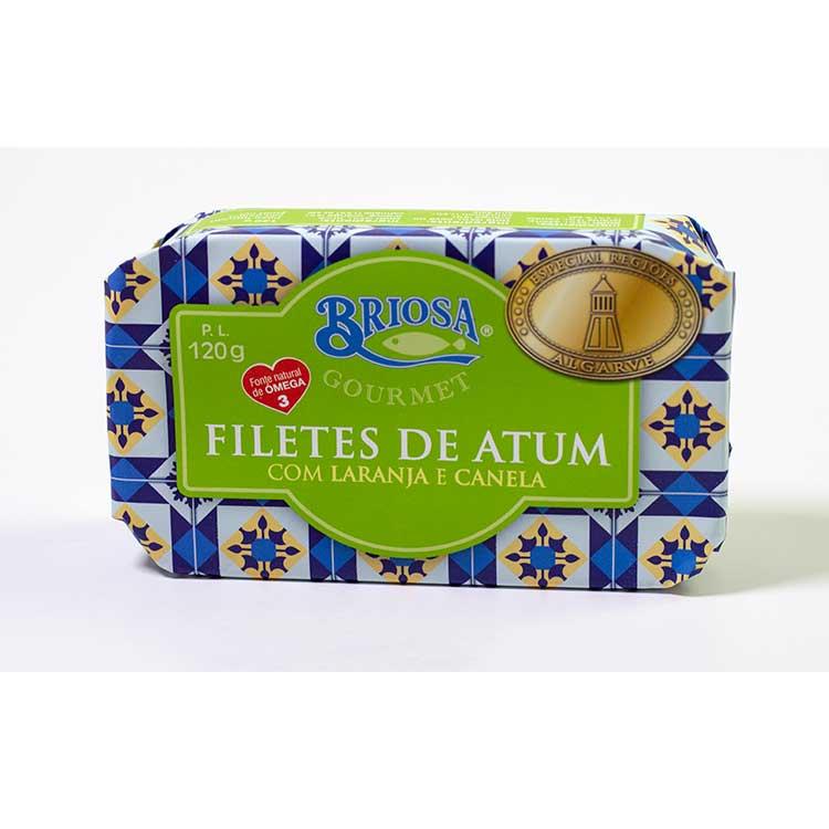 Filetes de Atum com Laranja e Canela - Briosa