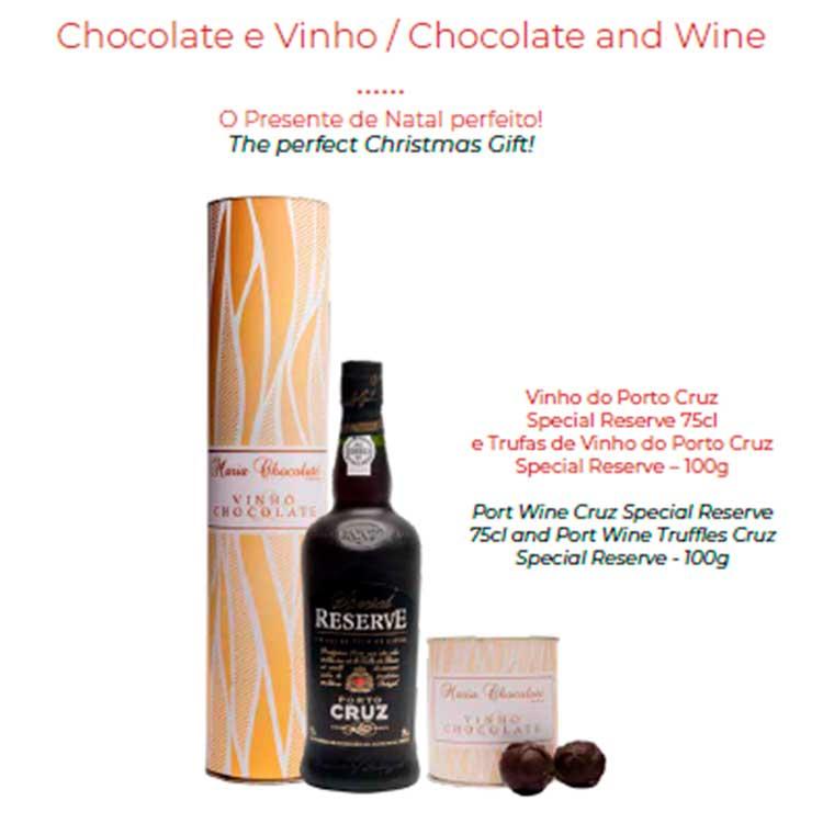 Chocolate e Vinho - Maria Chocolate