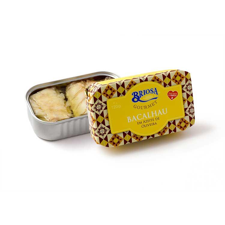 Bacalhau em Azeite de Oliveira - Briosa