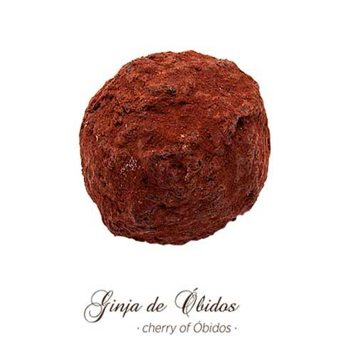Trufas - Ginja de Óbidos - Maria Chocolate