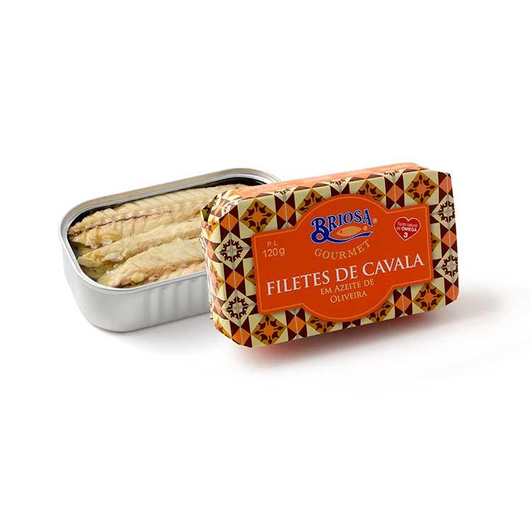 Filetes de Cavala em Azeite de Oliveira - Briosa