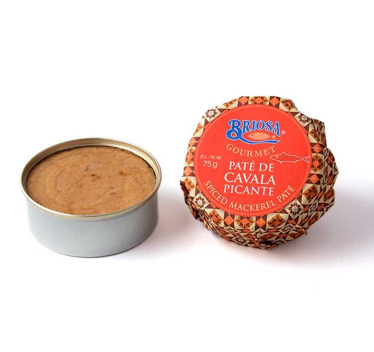 Paté de Cavala Picante - Briosa