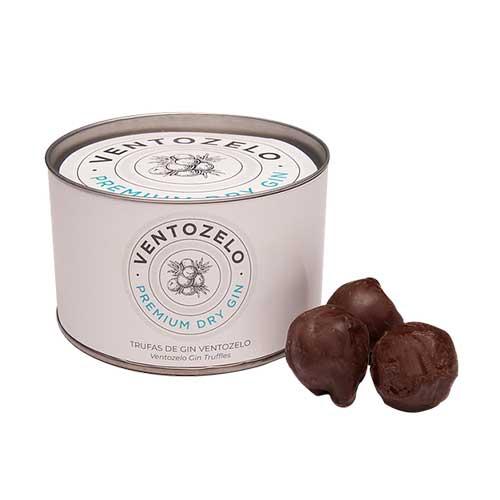 Lata Trufas Gin Ventozelo - Maria Chocolate