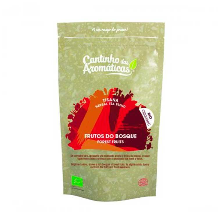 Frutos do Bosque - Tisana BIO - Cantinho das Aromáticas