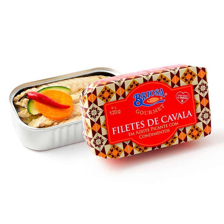Filete de Cavala em Azeite Picante - Briosa