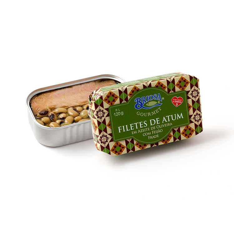 Filetes de Atum em Azeite de Oliveira com Feijão Frade - Briosa