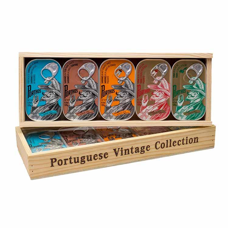 Caixa de Madeira Mix - Porthos Vintage