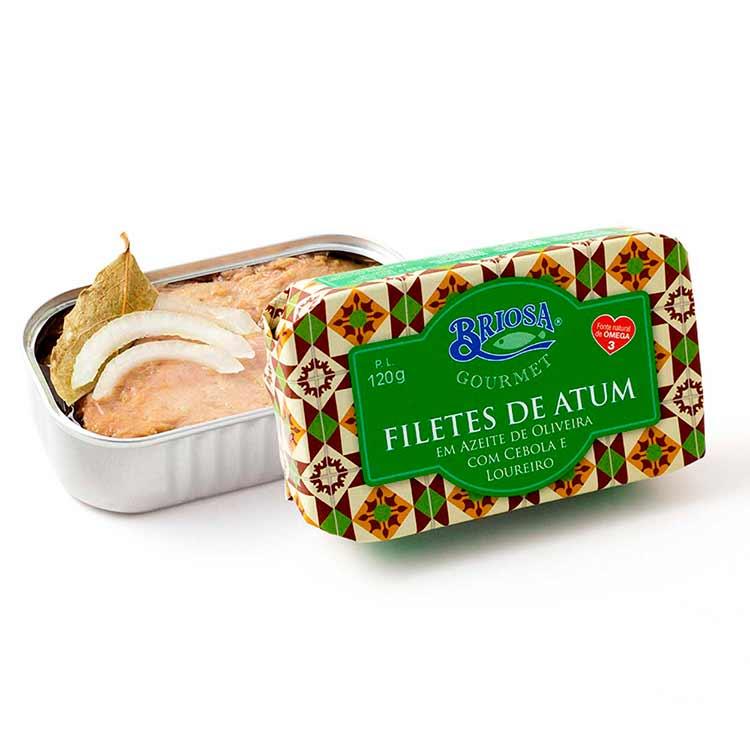 Filetes de Atum com Cebola e Louro - Briosa