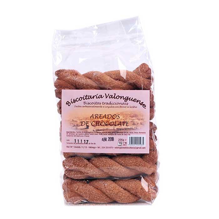 Areados de Chocolate - Biscoitaria Valonguense