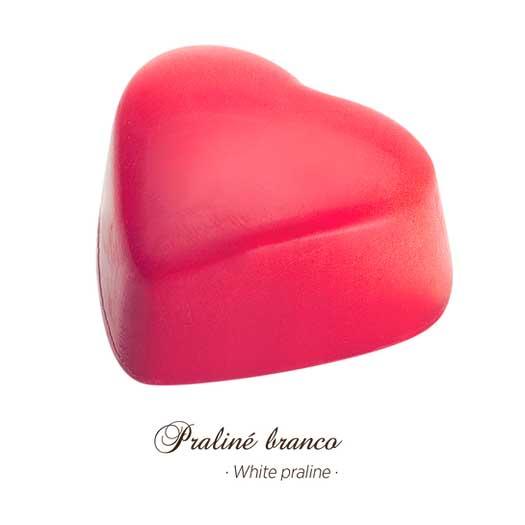 Bombons Gourmet - Praliné Branco - Maria Chocolate