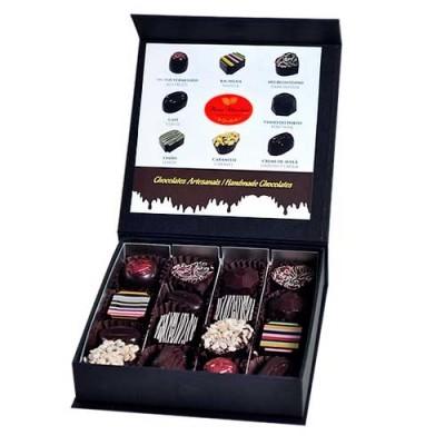 Caixa Preta Prestige Chocolate Negro - Maria Chocolate