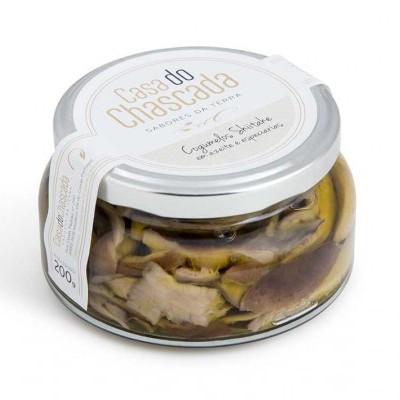 Cogumelos Shitake em Azeite e Especiarias - Casa do Chascada