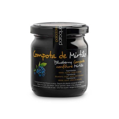 Compota de Mirtilo - Paladares Paroquiais