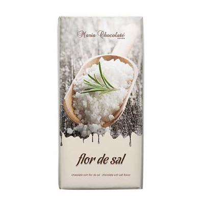 Tablete Chocolate com Flor de Sal - Maria Chocolate