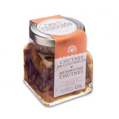 Chutney de Cogumelos Shitake - Casa do Chascada