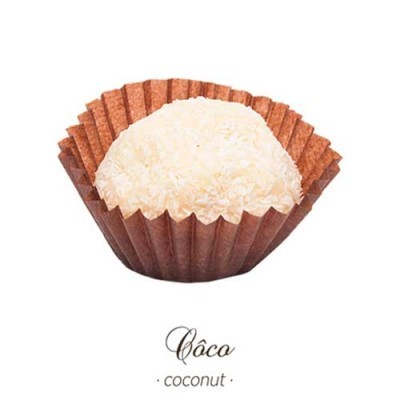 Brigadeiro Gourmet - Côco - Maria Chocolate