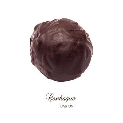 Trufas - Conhaque - Maria Chocolate