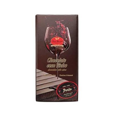 Tablete de Chocolate com Recheio de Vinho - Maria Chocolate