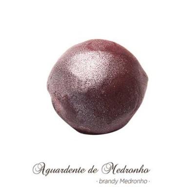 Trufas - Aguardente de Medronho - Maria Chocolate