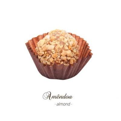 Brigadeiro Gourmet - Amêndoa - Maria Chocolate