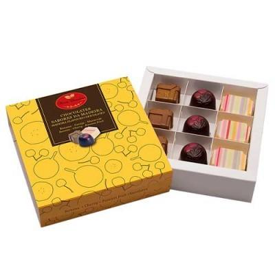 Caixa Bombons Sabores da Madeira - Maria Chocolate