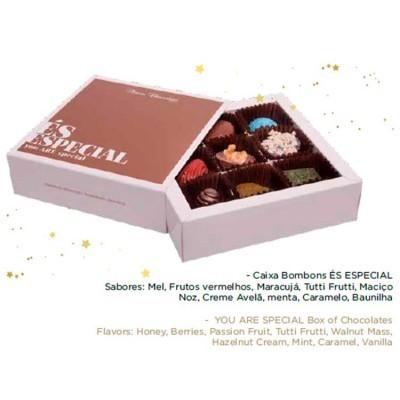 Caixa de Bombons com Mensagem - Maria Chocolate
