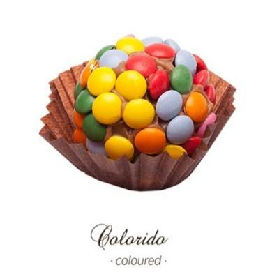 Brigadeiro Gourmet - Dragueias Colorido - Maria Chocolate