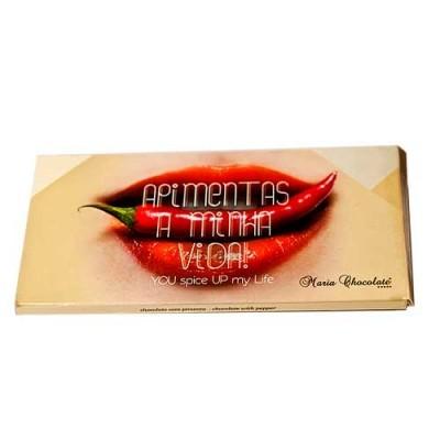 Tablete Chocolate com Pimenta - Maria Chocolate