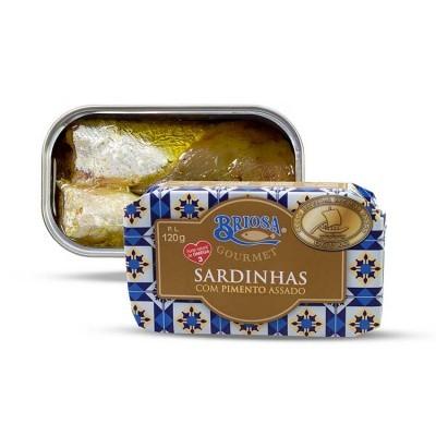 Sardinha com Pimento Assado - Briosa
