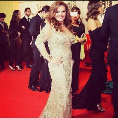 Rita Ribeiro nos Oscares vestida por Graça Esteves