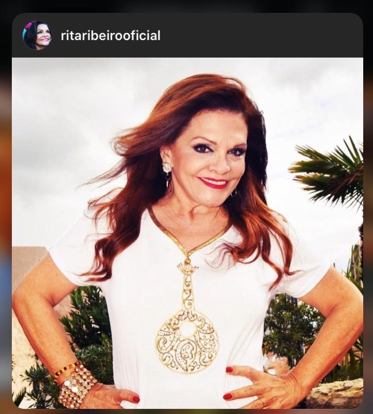 Rita Ribeiro com sofi-shirt