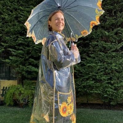 Capa de chuva Girassóis