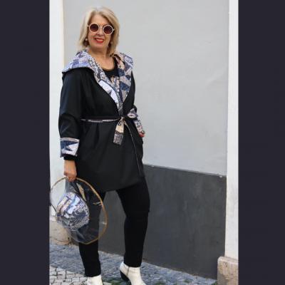 Casaco impermeável Caminhos de Portugal