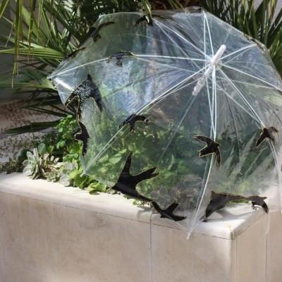 Chapéu de chuva Andorinhas
