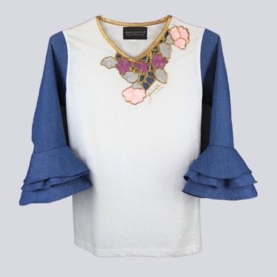 Sofi-Shirt Diamante Rosa