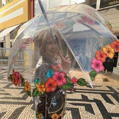 Chapéu de chuva Florido
