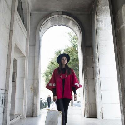 Casaco-Capa Glamour