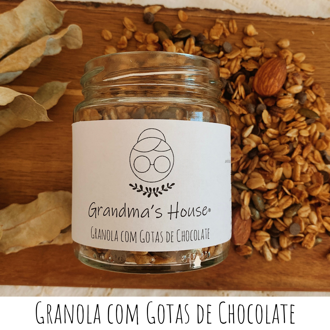 Granola com Gotas de Chocolate