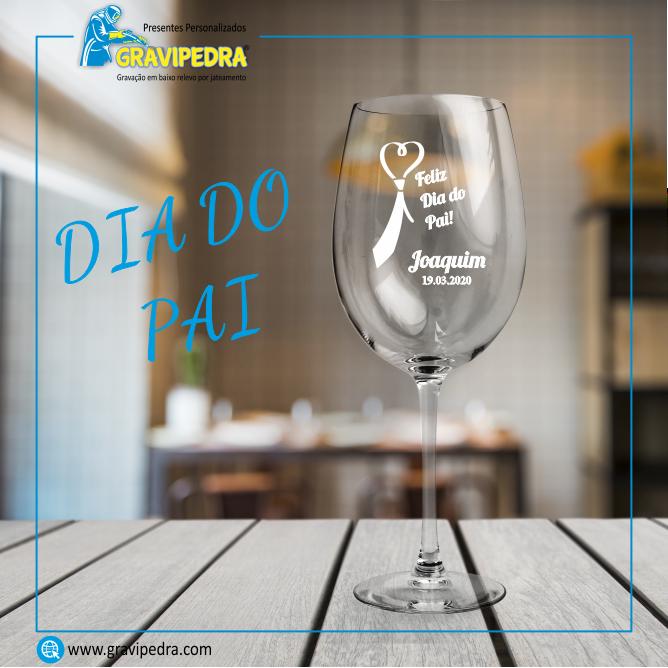 Copo em vidro personalizado – Dia do Pai – TVP06
