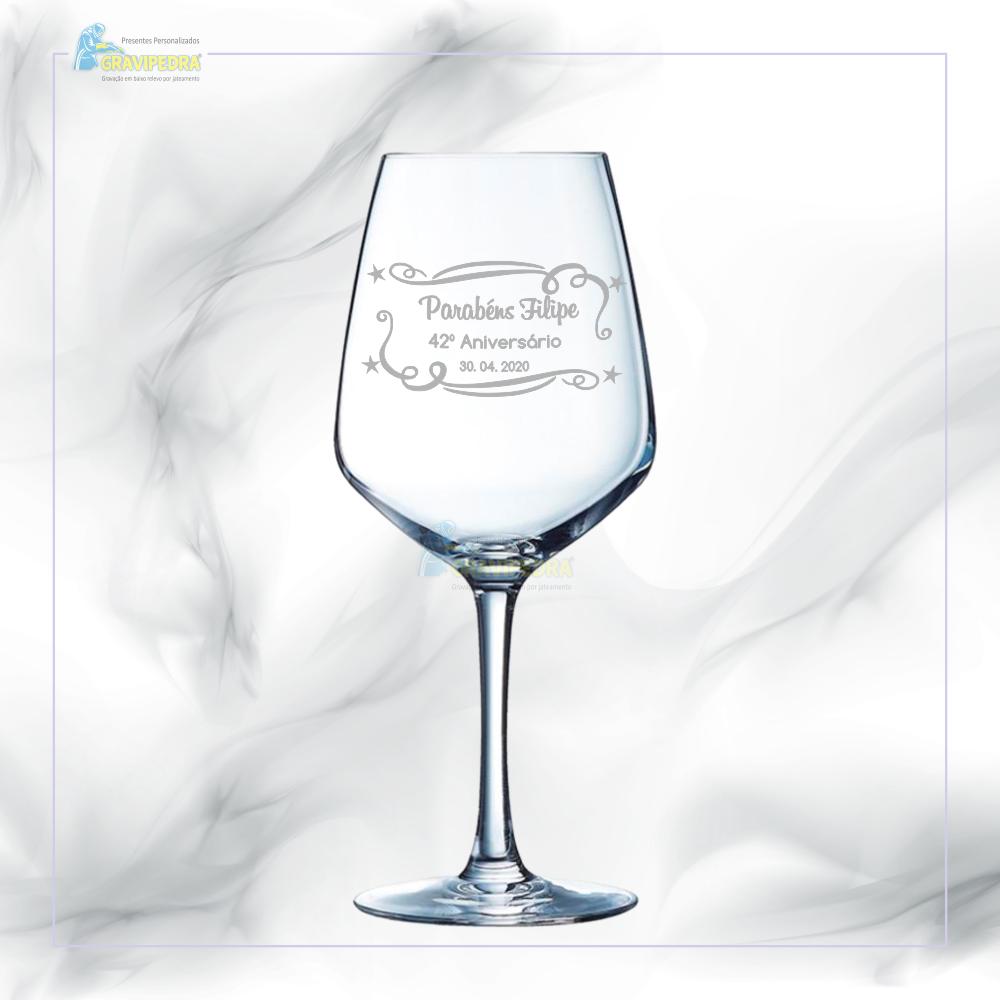 Copo em vidro personalizado - CVFG07