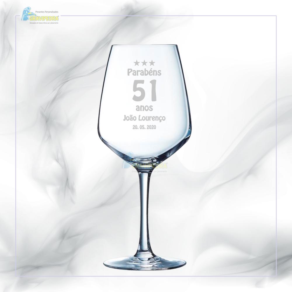 Copo em vidro personalizado - CFA22