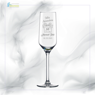 Copo em vidro personalizado - CFA50