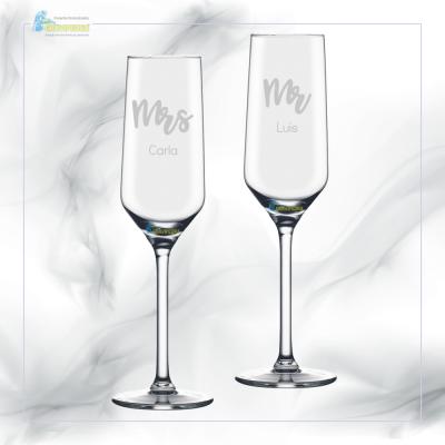 Pack 2 Copos em vidro personalizados - CVFG06