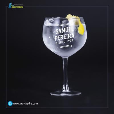 Copo GIN em vidro personalizado - CVGFG01